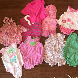 Other - Bundle of 6 month girl summer outfits